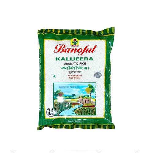 Banoful Kalijeera Rice 10 Lbs