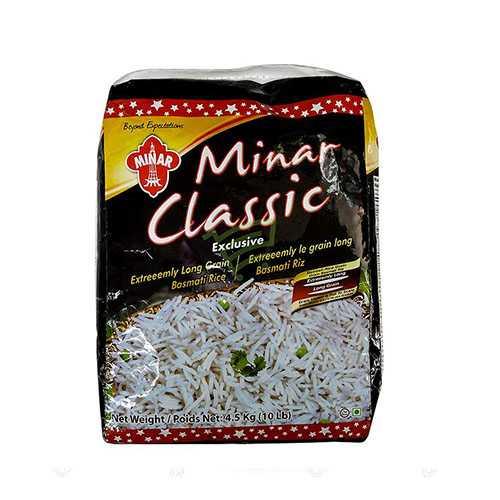 Minar Classic Basmati Rice 10Lbs